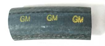 1964-1969 Corvette Air Cleaner Hose To Elbow With GM Logo