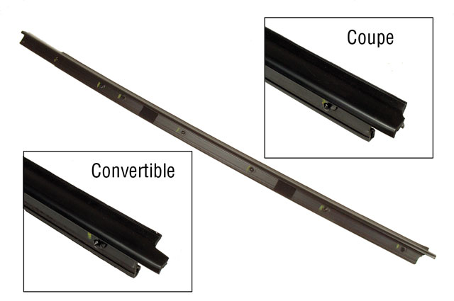 LH Convertible Door Outer Window Seal
