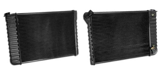 1966-1968 Corvette Brass Radiator (replacement)