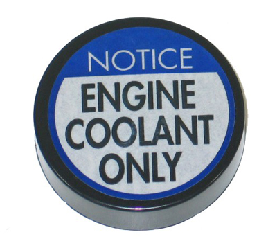 1977-1982 Corvette Coolant Reservoir Cap