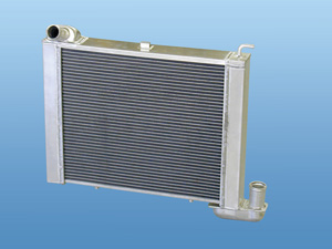 1963-1972 Corvette Aluminum Radiator - Automatic Transmission 63-72