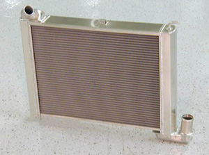 1965-1969 Corvette Replacement Aluminum Radiator With Manual Transmission
