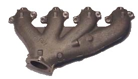 1966-1974 Corvette RH Exhaust Manifold 427/454 With Air
