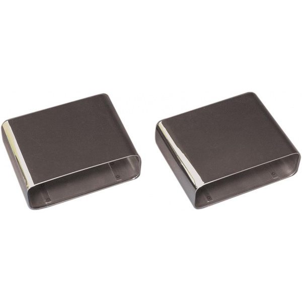 Rectangular Exhaust Tips - pair (Stainless Steel)