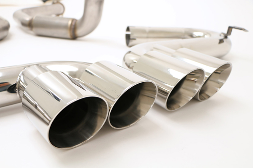 1997-2004 Corvette C5 Bullet Exhaust With Quad Round Tips