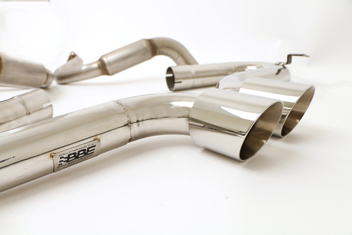 1997-2004 Corvette C5 Bullet Exhaust With Twin Round Tips