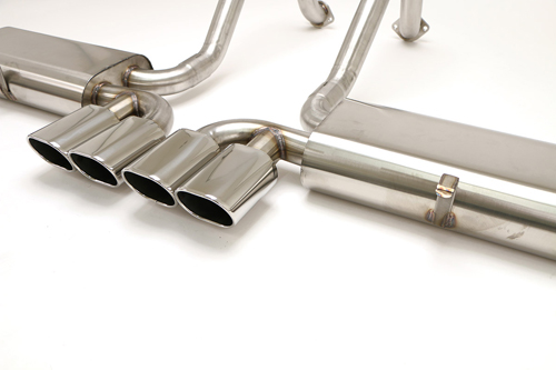 1997-2004 Corvette C5 Route 66 Exhaust With Quad Oval Tips
