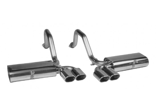 1997-2004 Corvette C5 Route 66 Exhaust With Quad Elliptical Tips