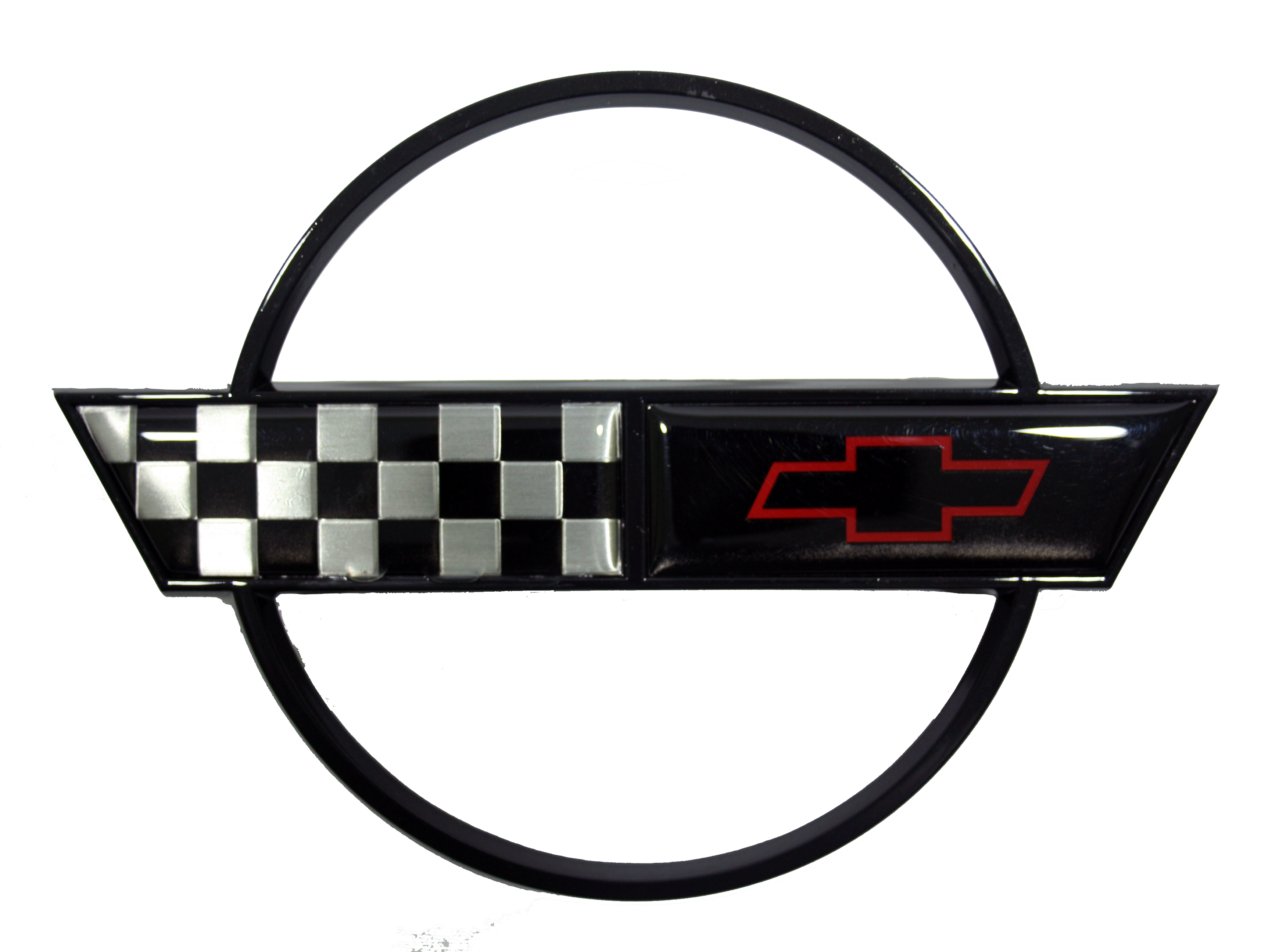 Gas Door Emblem - Black