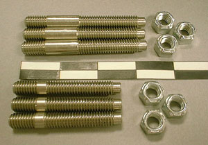 1956-1979 Corvette Exhaust Manifold Stud & Nut Kit (12 Pcs)