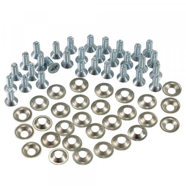1956-1962 Corvette Softtop Pad Screw & Washer Kit ( 60 Pcs )