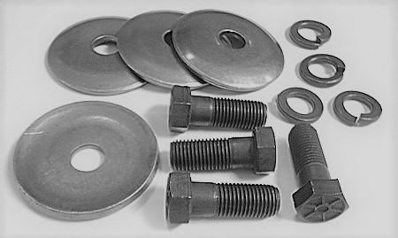 1963-1982 Corvette Lower A-arm Bushing Retainer Bolt & Washer Set
