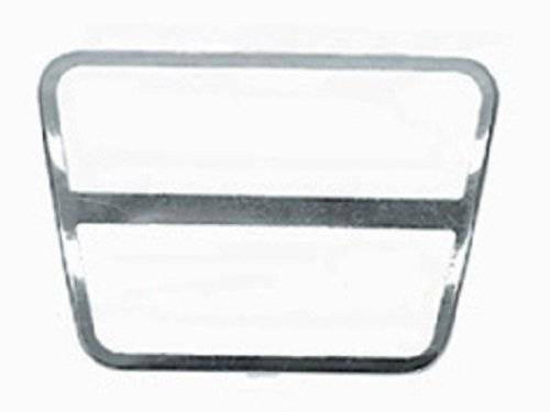 1968-1982 Corvette Brake Or Clutch Pedal Pad - Stainless Steel Trim