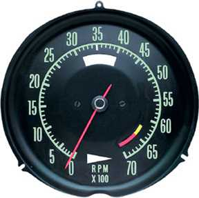 Tachometer Assembly (6500 RPM)