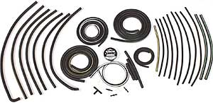 1971-1972 Corvette Headlight & Wiper Vacuum Hose Kit