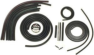 1980-1982 Corvette Headlight & Wiper Vacuum Hose Kit