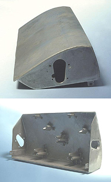 1963-1967 Corvette RH Headlight Housing