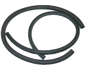 1959-1979 Corvette Ribbed Heater Hose Kit - No Logo (replacement)