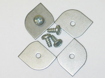 Glove Box Moulding Retainers with Screws (8 Pcs)
