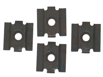 Corvette Glove Box Upper & Lower Moulding Clips (4 Pcs Per Set) - 2 Sets Required