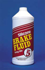 Silicone Brake Fluid (Quart)