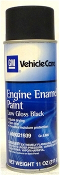 GM Black Engine Compartment Paint ( 11 OZ )