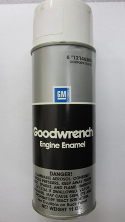 Chevy Engine Paint Corp Blue