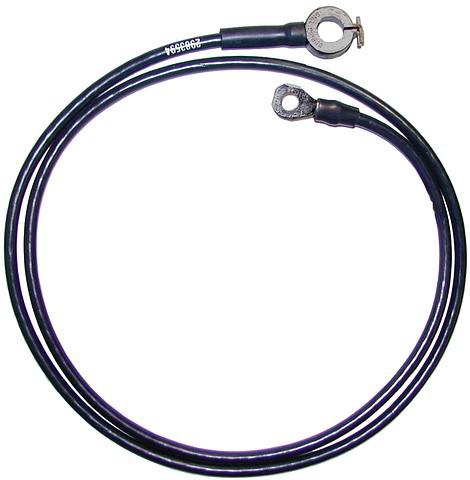 1963 Corvette Battery Negative Cable With AC Spring Ring