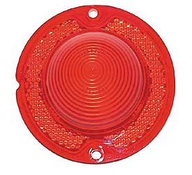 Corvette Tail Ligh Lens Red 61-67