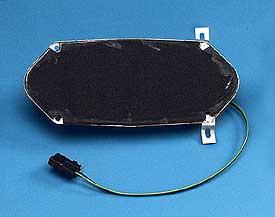 1968 Corvette Radio 1 - Kick Panel Speaker With Mount Bracket Wiring Harness Connector With Clip Ohm Part - 1968 Corvette Radio 1