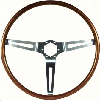 1967-1968 Corvette Simulated Wood Steering Wheel (reproduction)