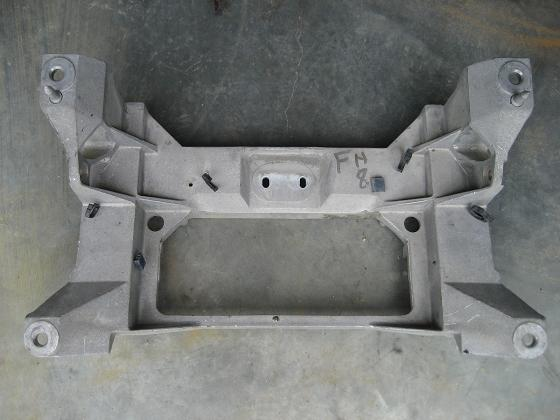Corvette Rear Crossmember Cast Aluminum