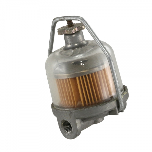Corvette Fuel Filter Assembly Gf-48 ( Glass Bowl With AC Stamped In Glass )
