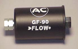 2007 corvette fuel filter 1964 corvette fuel filter gf-90 (black with white ...