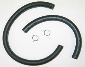 1964-1982 Corvette Fuel Hose With Clamps (betwee Fuel Tank & Long Line)