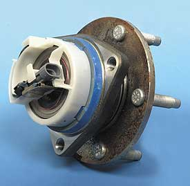 1997-2010 Corvette Rear Hub & Bearing With Speed Sensor