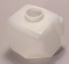 1963-1967 Corvette Washer Bottle Without AC (white)