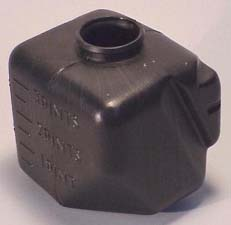 1968-1969 Corvette Washer Bottle Without AC (black)