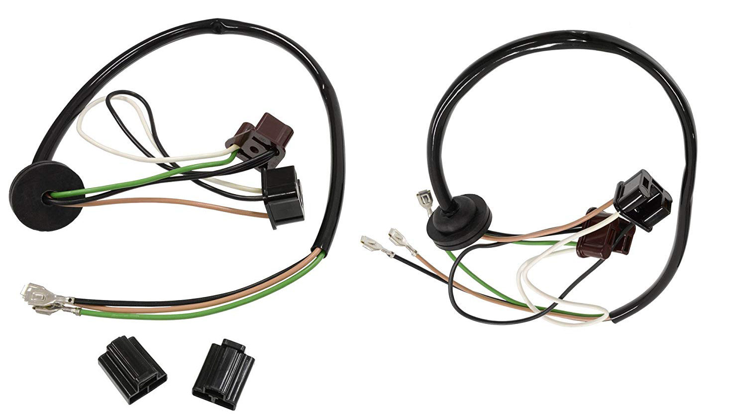 1963 Corvette Headlight Extension Harness With Fib Buckets (2 Pcs)