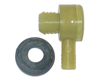 1964-1974 Corvette Booster Valve & Grommet Set - With Power Brakes