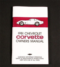 C5 corvette owners manual pdf