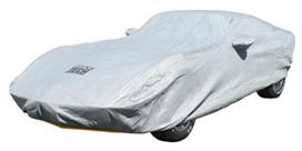Car Cover Maxtech Gray with Cable & Lock