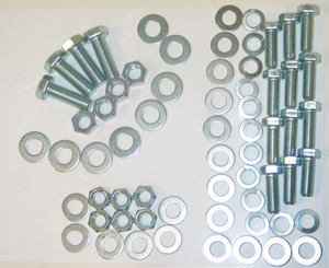 1968-1973 Corvette Rear Bumper Bolt Kit (64 Pcs) Replacement)