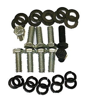 1968-1973 Corvette Rear Bumper Mount Bolt Kit