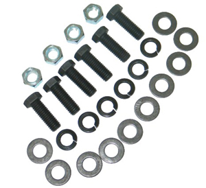 1968-1973 Corvette Rear Bumper Bracket Bolt Kit (a Headmark) Partial Kit ( 26 Pcs )