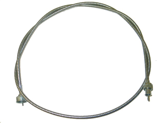 1956-1959 Corvette Speedometer Cable With Steel - 4 Speed (62 Inch)
