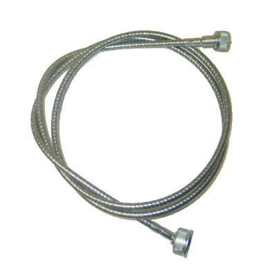 1956-1959 Corvette Speedometer Cable With 3 Speed (steel) (60 Inch)