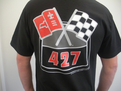Engine Block T-Shirt 427 LG 53-10
