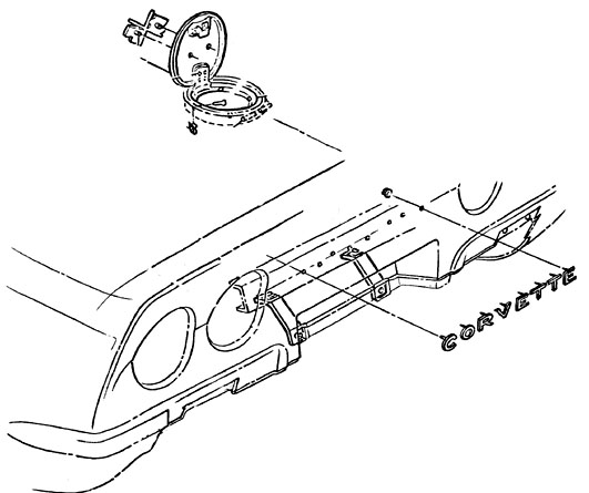 Corvette Parts Diagrams Amp Accessories For C1 C2 And C3