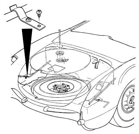 2001 Corvette Power Antenna